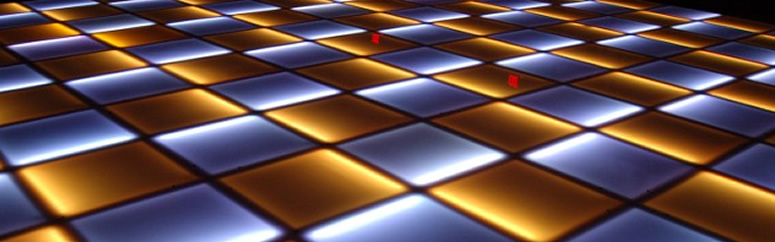 how to make a lighted dance floor